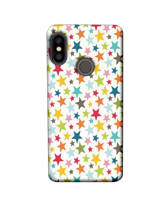 Xiaomi Redmi Note 5 Pro Mobile Cover Printed Designer Case Multi Stars