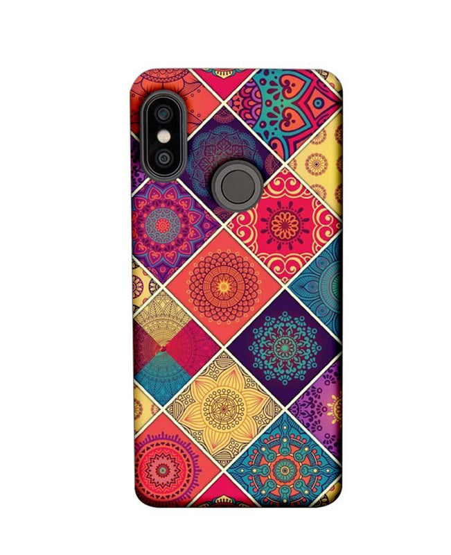 Xiaomi Redmi Note 5 Pro Mobile Cover Printed Designer Case Indian Arts