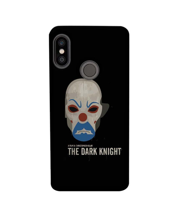 Xiaomi Redmi Note 5 Pro Mobile Cover Printed Designer Case The Dark Knight Joker