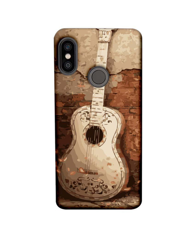 Xiaomi Redmi Note 5 Pro Mobile Cover Printed Designer Case Guitar