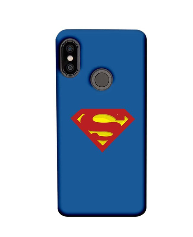 Xiaomi Redmi Note 5 Pro Mobile Cover Printed Designer Case Superman Logo