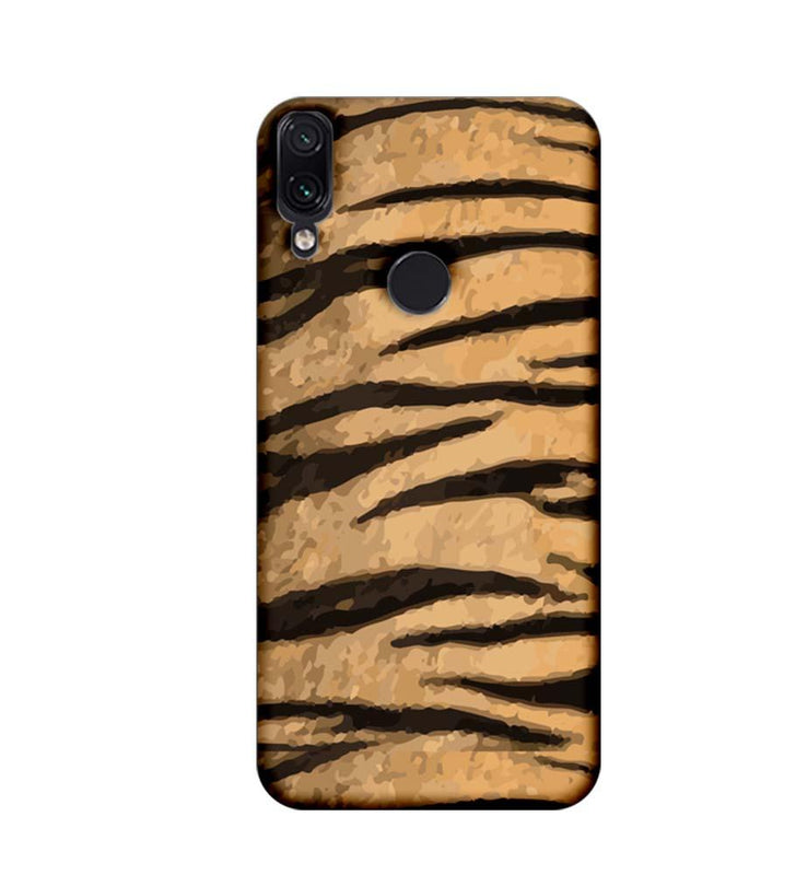 Xiaomi Redmi Note 7 Mobile Cover Printed Designer Case Tiger Pattern