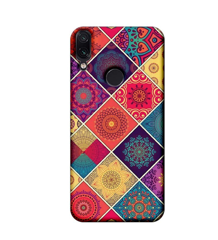 Xiaomi Redmi Note 7 Mobile Cover Printed Designer Case Indian Arts