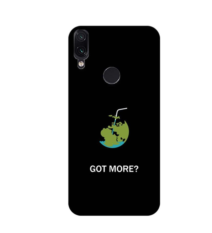 Xiaomi Redmi Note 7 Mobile Cover Printed Designer Case Got More