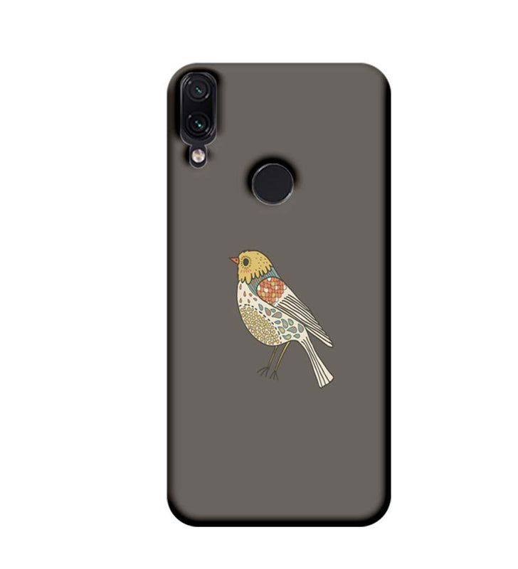 Xiaomi Redmi Note 7 Mobile Cover Printed Designer Case Bird Art
