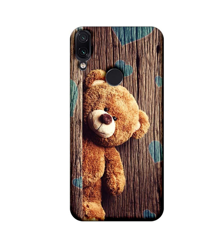 Xiaomi Redmi Note 7 Mobile Cover Printed Designer Case Teddy Bear