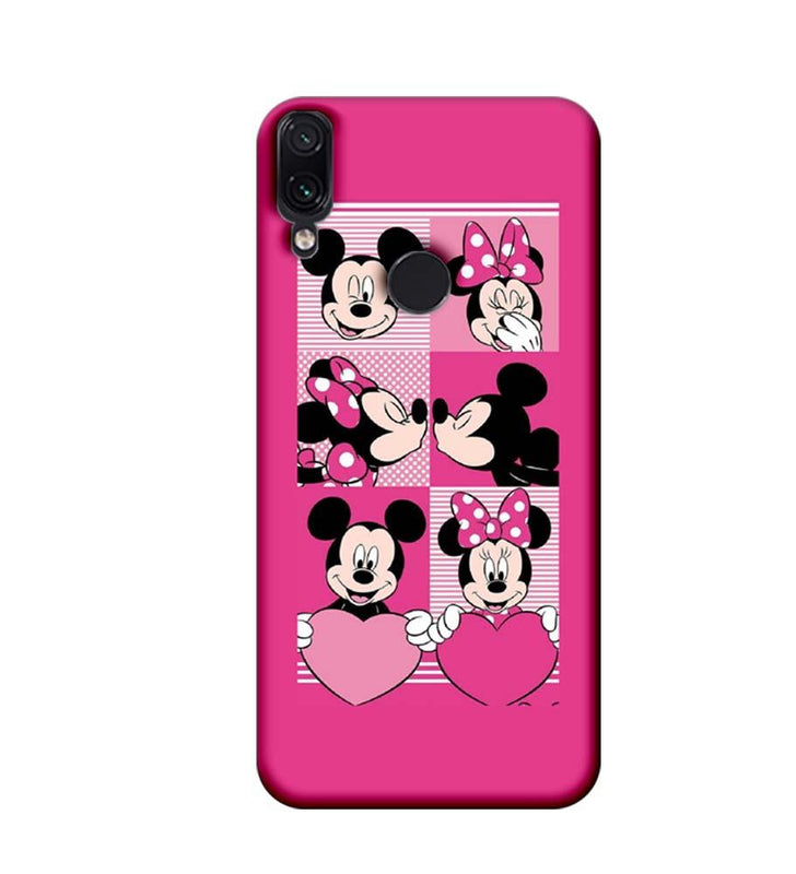 Xiaomi Redmi Note 7 Mobile Cover Printed Designer Case Mickey Mouses