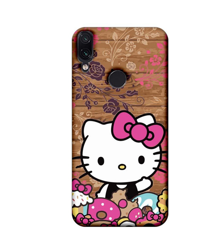 Xiaomi Redmi Note 7 Mobile Cover Printed Designer Case Hello Kitty 3.0