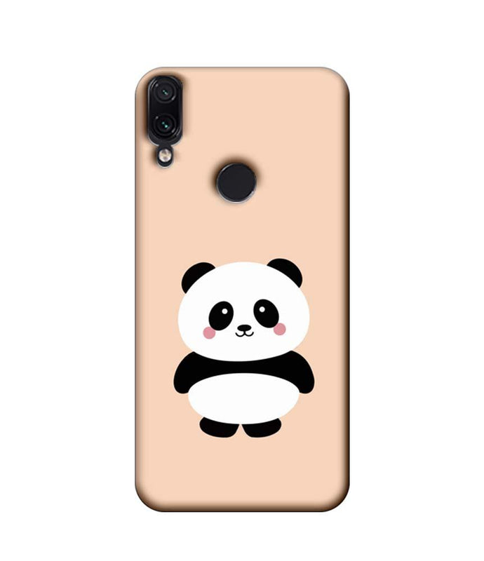 Xiaomi Redmi Note 7 Pro Mobile Cover Printed Designer Case Cute Panda