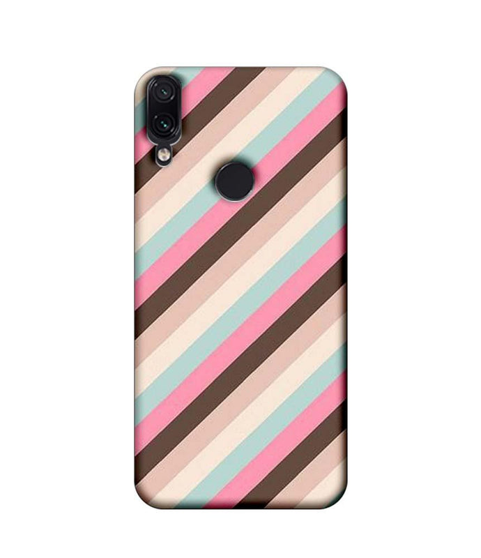 Xiaomi Redmi Note 7 Pro Mobile Cover Printed Designer Case Multi Stripe