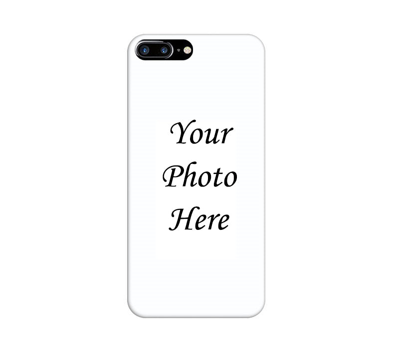 Apple iPhone 8 Plus Back Cover Personalised Printed Case - www.crazywears.in