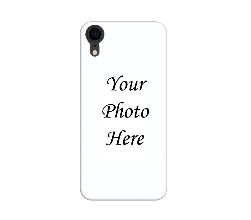 Apple iPhone XR Back Cover Personalised Printed Case