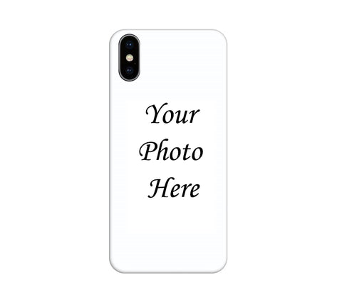 Apple iPhone XS Max Back Cover Personalised Printed Case