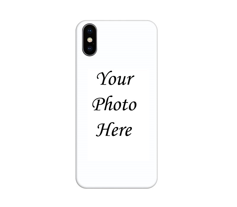 Apple iPhone XS Back Cover Personalised Printed Case