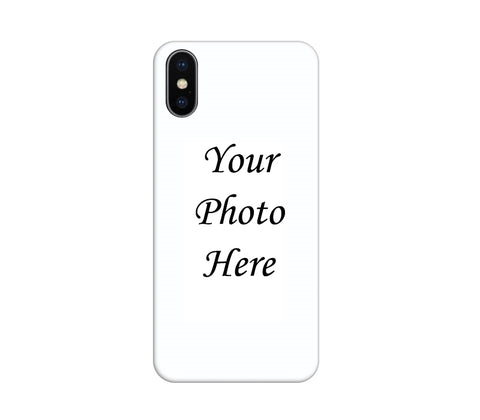 Apple iPhone X Back Cover Personalised Printed Case