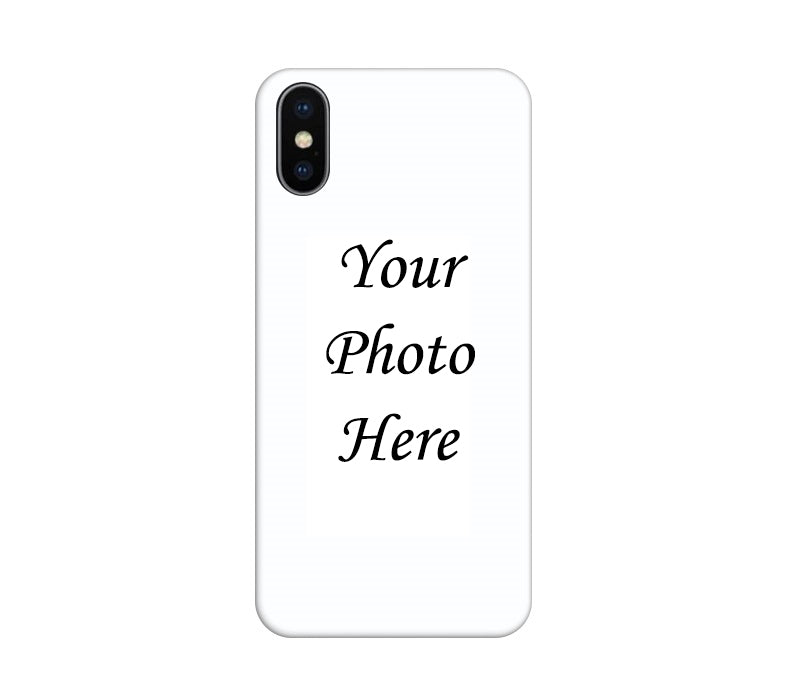separation shoes 0f9aa 6f29b Apple iPhone X Back Cover Personalised Printed Case