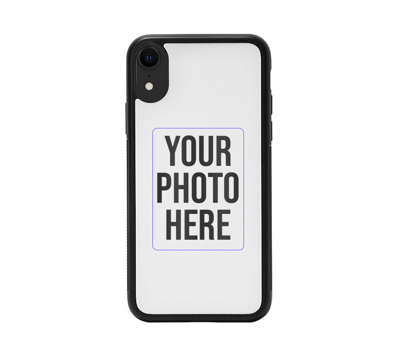 Apple iPhone XR Back Cover Personalised Printed Glass Case