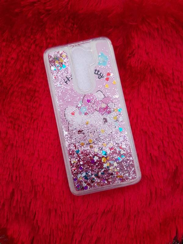 Hello Kitty Liquid Glitter Case