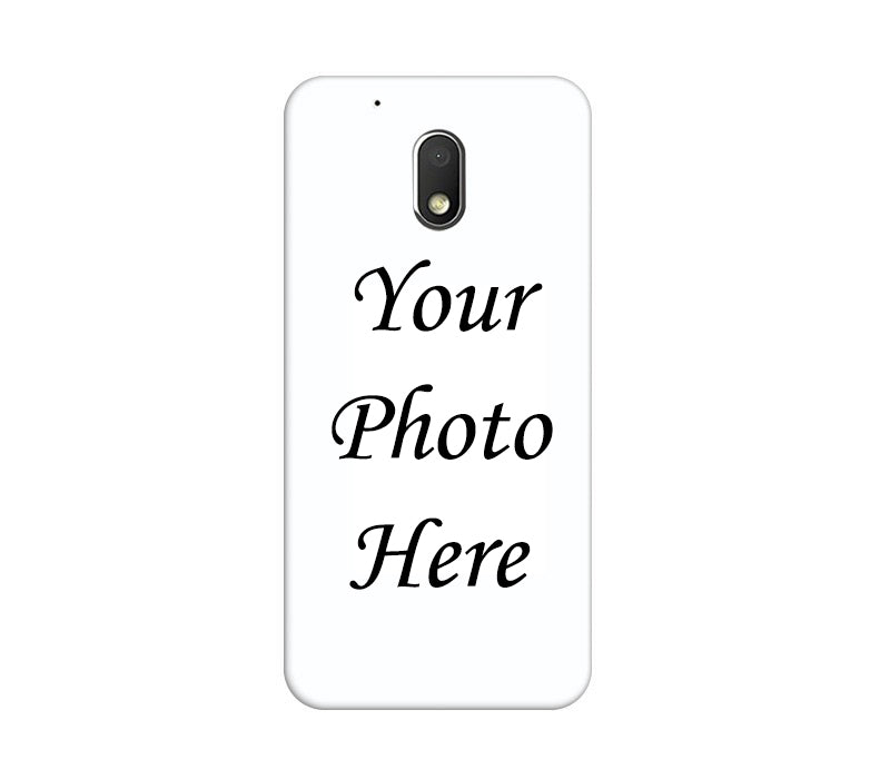 Motorola Moto G4 Play Back Cover Personalised Printed Case