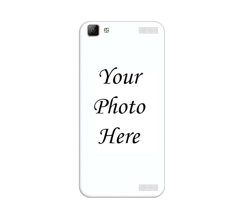 new style afea6 3c37b Vivo V1 Max Back Cover Personalised Printed Case