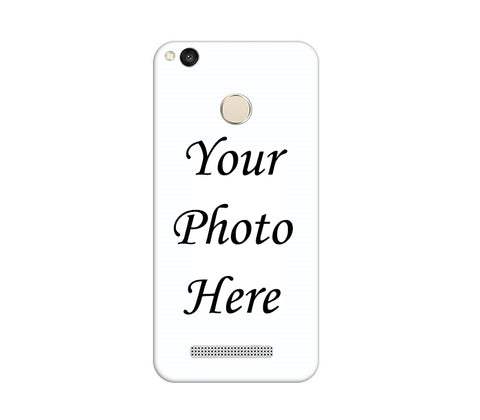 Xiaomi Redmi 3s Prime Back Cover Personalised Printed Case - www.crazywears.in