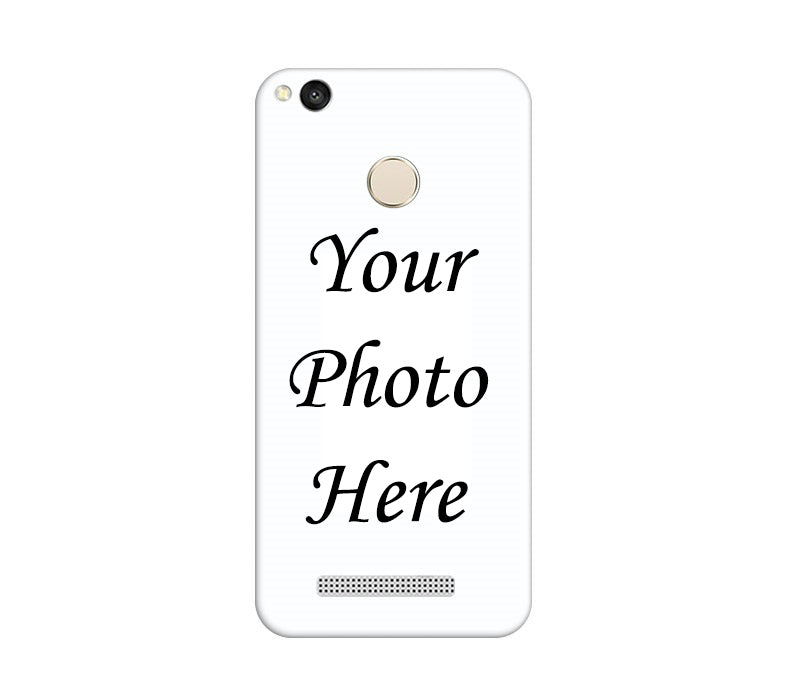 Xiaomi Redmi 3s Prime Back Cover Personalised Printed Case