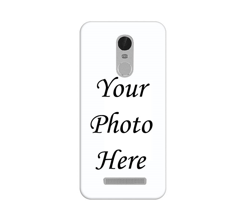 Xiaomi Redmi Note 3 Back Cover Personalised Printed Case - www.crazywears.in
