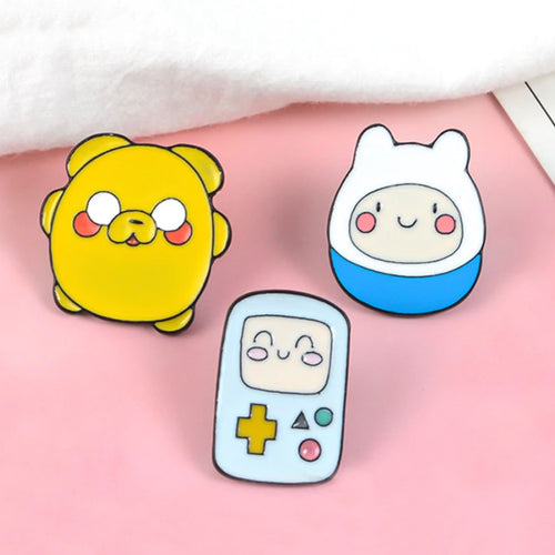 Adventure Time - Jake, Finn and Beemo