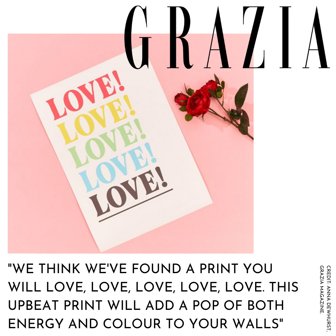 Kin & Castle  - Featured in GRAZIA magazine