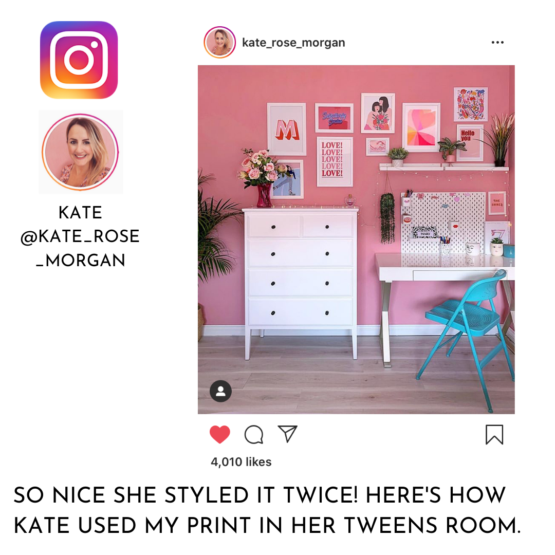 Kin & Castle featured on Kate Rose Morgan Instagram 2