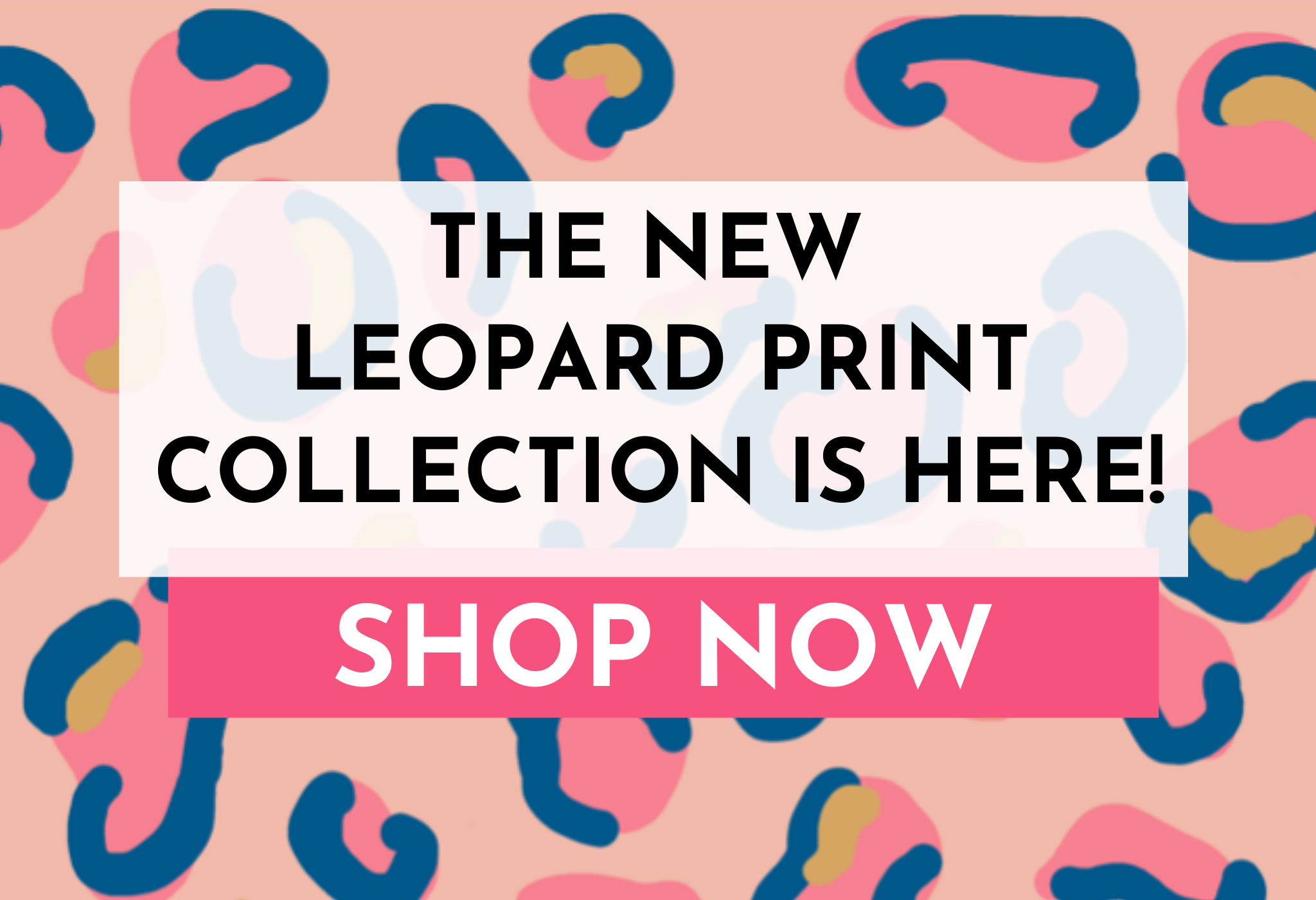Kin and Castle leopard print collection click thru