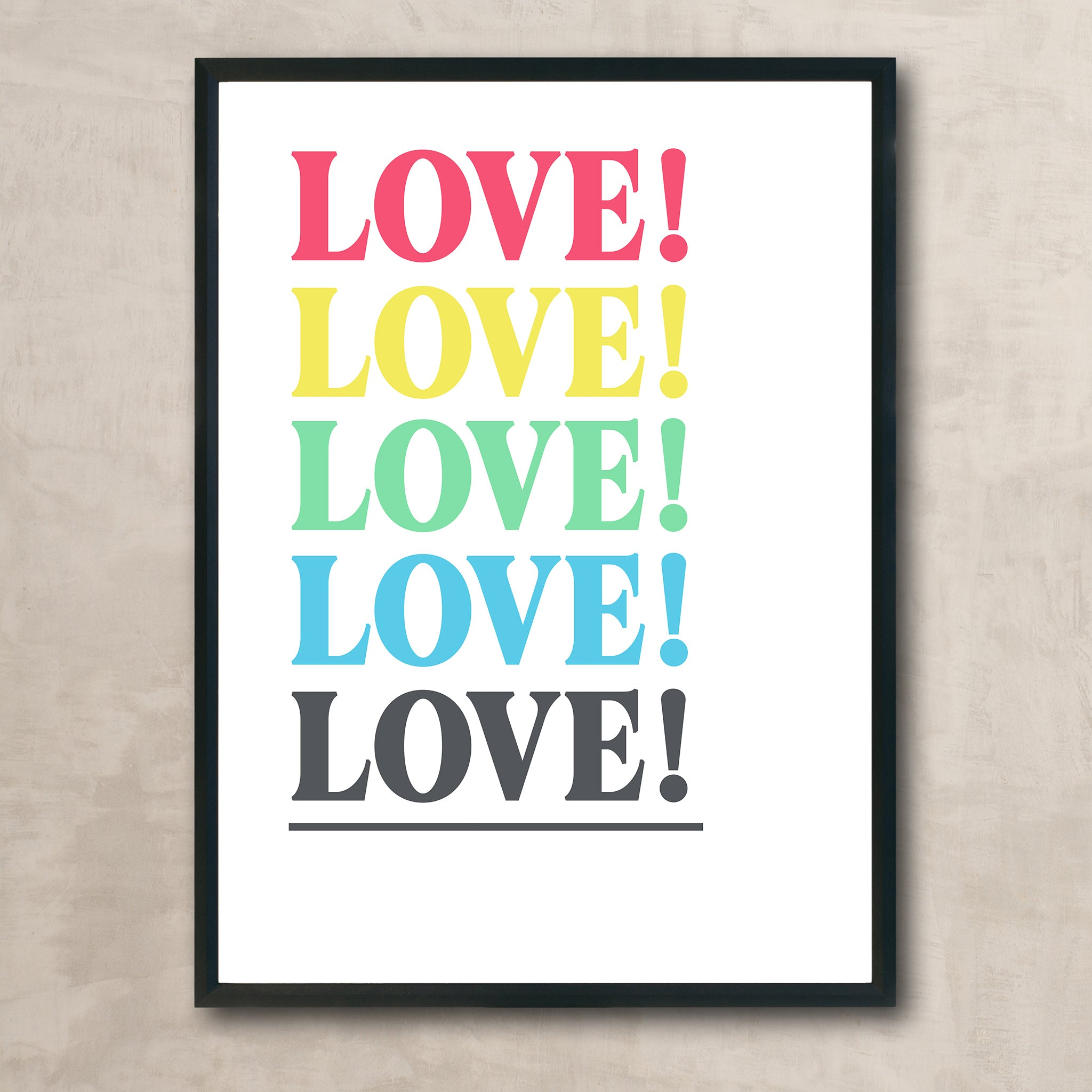 KIN AND CASTLE LOVE! PRINT