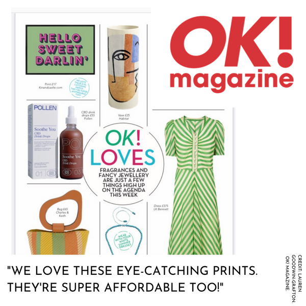 Kin and Castle in OK! magazine love list
