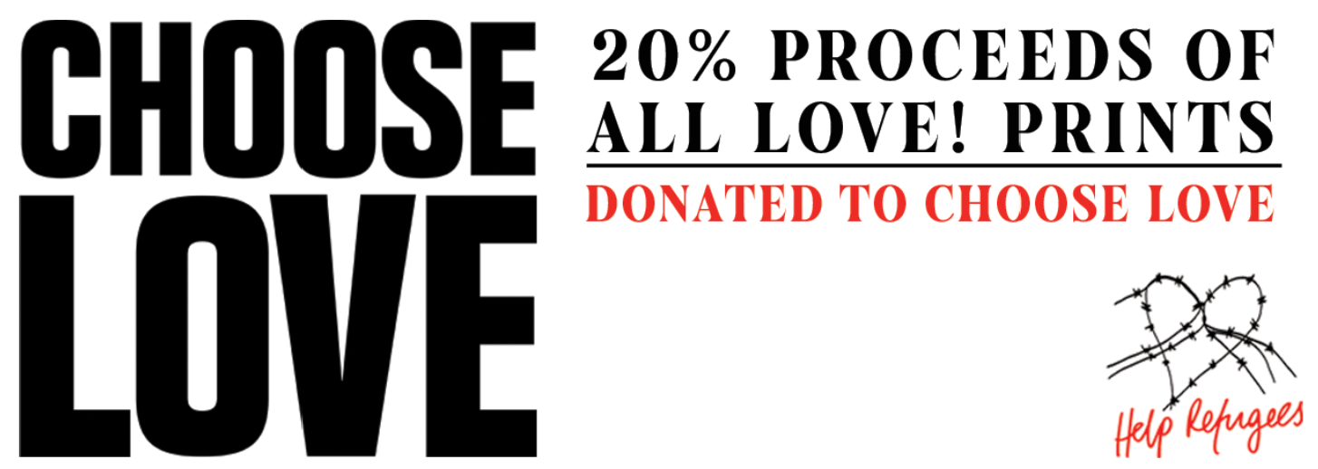 Kin & Castle and CHOOSE LOVE CHARITY PARTNERSHIP