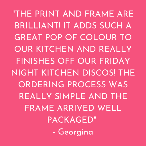 Kitchen Discos Are The New Out Out Art Print