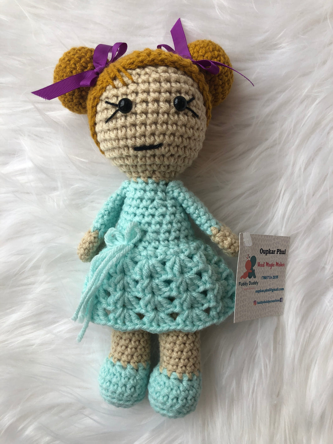 FDC-01 Doll Mint Dress
