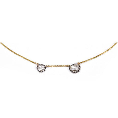 Himatsingka 18k and diamond necklace