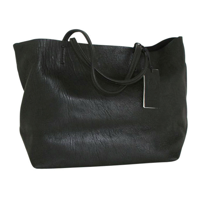 d6400d067e Massimo Palomba - Black Leather Tote - Shop Now! (Massimo Palomba Bags)