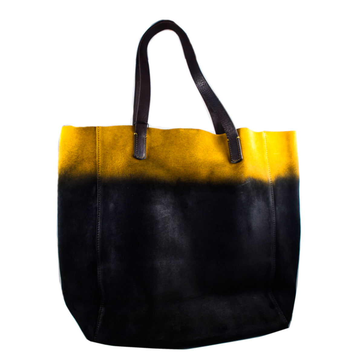 aa0b5b72c3 Massimo Palomba - Painted Suede Shopper - Shop Now! (Massimo Palomba ...