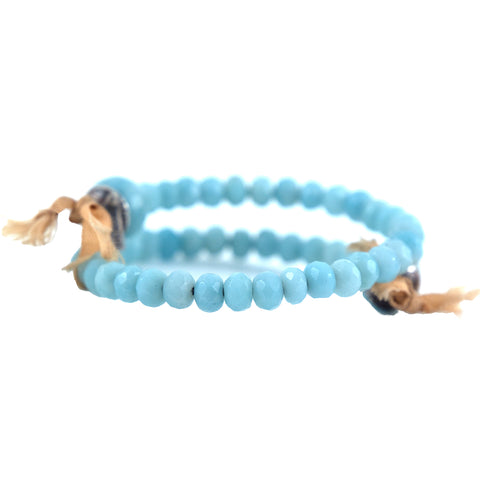Beth Orduna amazonite beaded bracelet