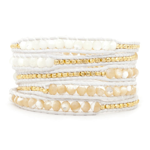 Chan Luu Natural Mother of Pearl Bracelet
