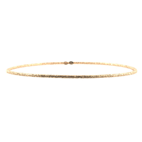 Carolina Bucci 18k yellow gold bangle