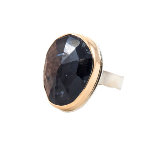 Brown Sapphire Ring