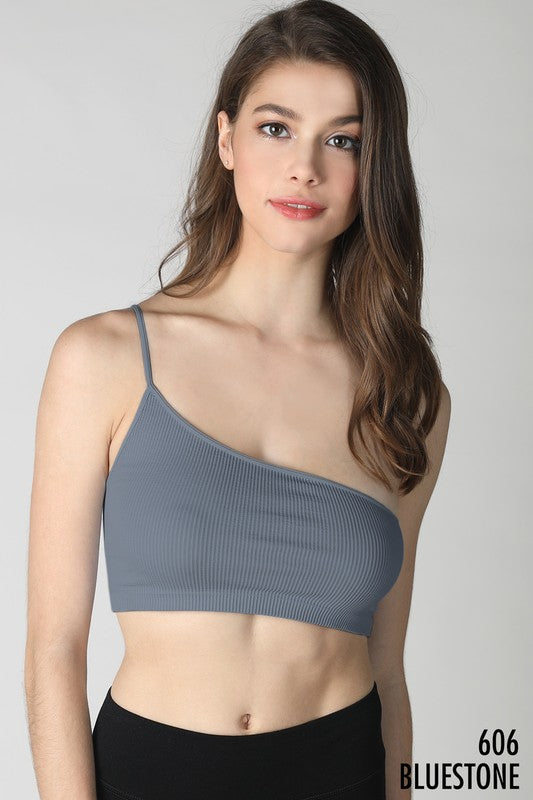 One Shoulder Bralette