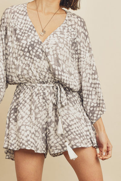 Honeycomb Romper