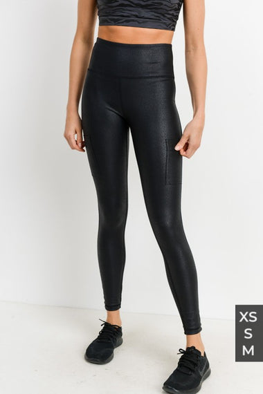 Triple Zippered Leggings