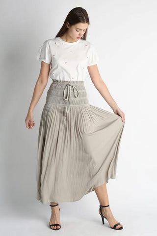1850204 Tricks Of The Trade Maxi Skirt