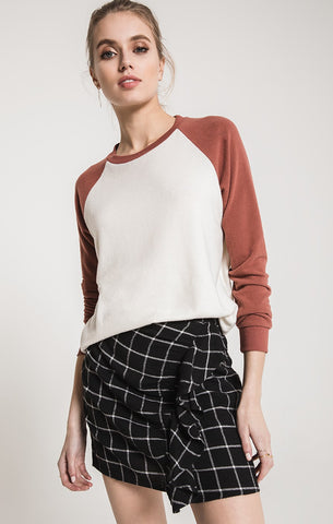 The Soft Spun Knit Raglan, BOBBI ROCCO, Sweater - Bobbi Rocco
