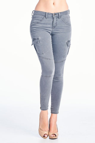Faded Grey Jeans, SNEAK PEAK, Jean - Bobbi Rocco