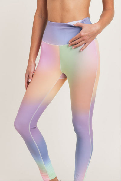 Rainbow Pastel Leggings